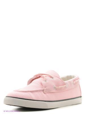 Мокасины 4U. Цвет: бледно-розовый, розовый
