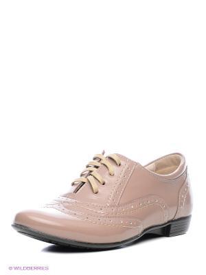 Туфли San Marko. Цвет: серо-коричневый