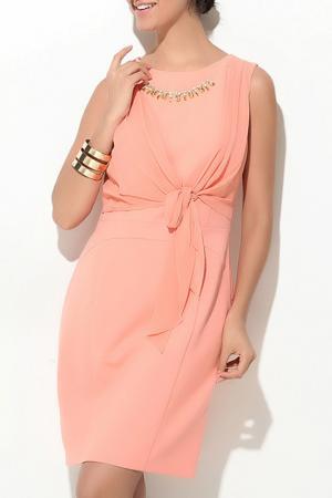 Платье Ludomara fashion. Цвет: оранжевый