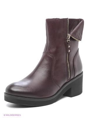 Ботинки Goergo. Цвет: темно-бордовый