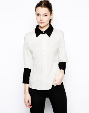 Рубашка для работы  Vicky Hershey Pascual. Цвет: white /black