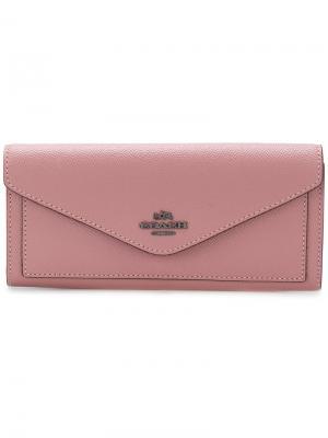 Кошелек Soft Coach. Цвет: розовый и фиолетовый