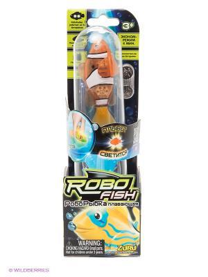 Светодиодная робо-рыбка Красная Сирена ZURU. Цвет: оранжевый