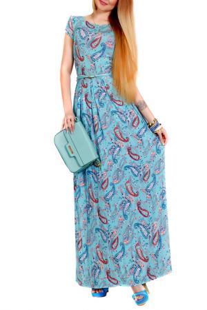 Платье FRANCESCA LUCINI. Цвет: мятный, анталия