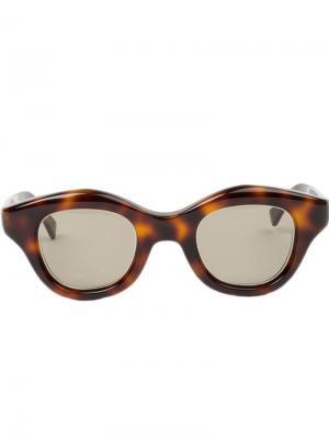 Солнцезащитные очки Hook Hakusan. Цвет: коричневый