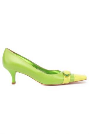 Туфли Giorgio Fabiani. Цвет: зеленый