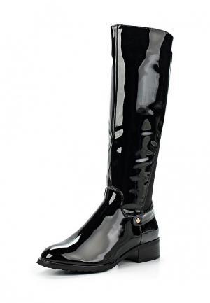 Сапоги Style Shoes. Цвет: черный