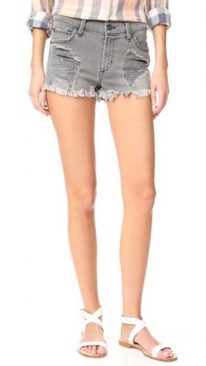 Свободные обрезанные шорты James Jeans. Цвет: дымчато-серый