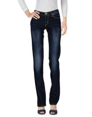 Джинсовые брюки NICHOL JUDD. Цвет: синий