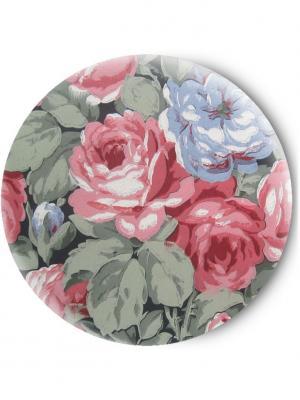 Зеркальце Tina Bolotina. Цвет: серо-зеленый, розовый