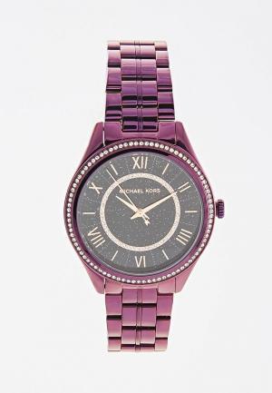 Часы Michael Kors. Цвет: фиолетовый