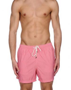 Шорты для плавания FIORIO. Цвет: розовый