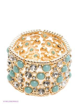Браслет Royal Diamond. Цвет: золотистый, светло-голубой