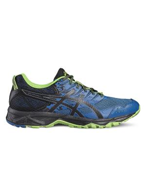 Спортивная обувь GEL-SONOMA 3 ASICS. Цвет: черный, светло-зеленый, голубой