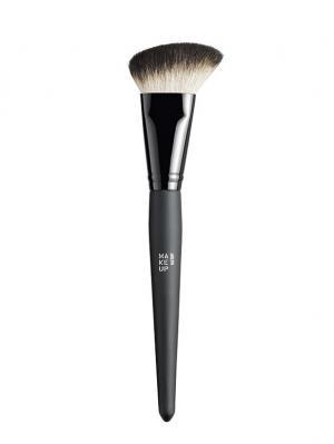 Кисть для румян Blush Brush Make up factory. Цвет: черный