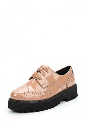 Ботинки Catisa. Цвет: розовый