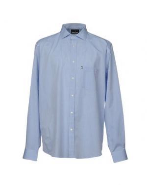 Pубашка NAVIGARE. Цвет: лазурный