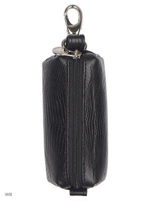 Ключница Petek. Цвет: черный, серебристый, серый