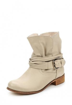 Ботинки Vera Blum. Цвет: бежевый