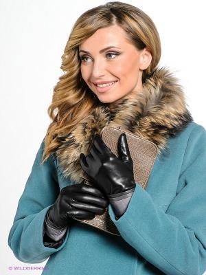 Перчатки Eleganzza. Цвет: серый, черный