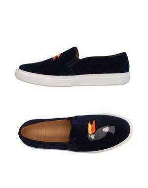 Низкие кеды и кроссовки BING XU. Цвет: темно-синий