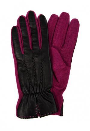 Перчатки Marco Bonne`. Цвет: фуксия
