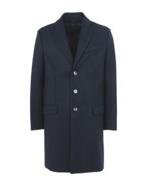 Пальто HARMONY Paris. Цвет: темно-синий
