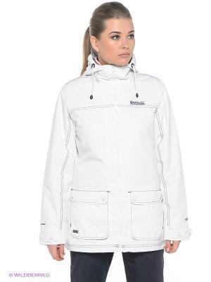 Куртка REGATTA. Цвет: белый