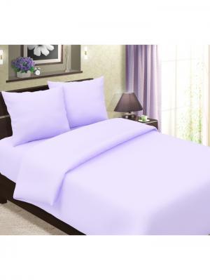Комплект постельного белья Традиция 1,5 спальный. Цвет: сиреневый