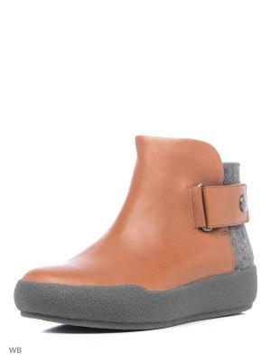 Ботинки Clarks. Цвет: светло-коричневый