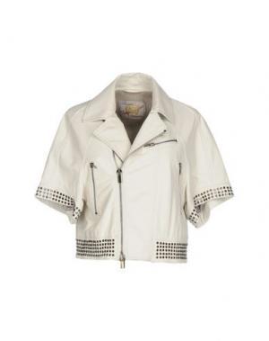Куртка VINTAGE DE LUXE. Цвет: слоновая кость
