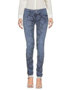 Повседневные брюки TRĒZ. Цвет: темно-синий
