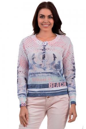 Пуловер Tuzzi. Цвет: разноцветный