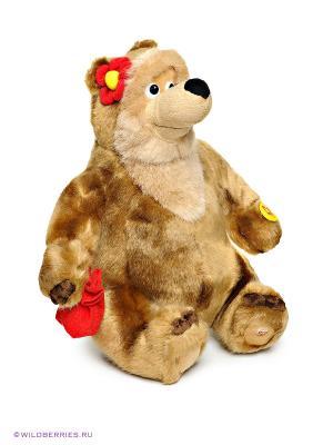 Мягкая игрушка Медведица Мульти-пульти. Цвет: светло-коричневый