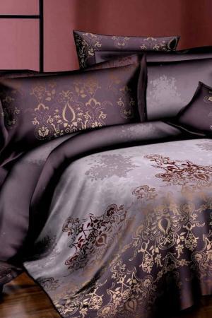 Постельное белье евро 70x70 Patrizia. Цвет: коричневый