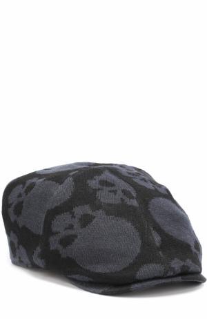 Льняное кепи с принтом в виде черепов Gemma. H. Цвет: черный