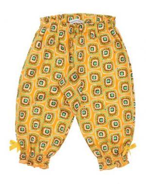 Повседневные брюки PAESAGGino. Цвет: оранжевый