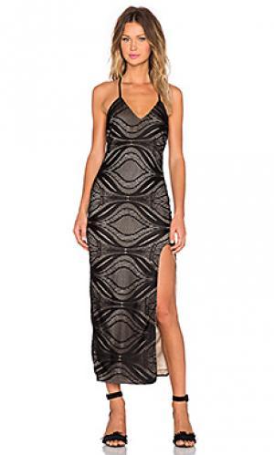 Платье jameson AGAIN. Цвет: черный