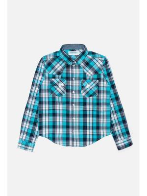 Рубашка Overmoon. Цвет: синий