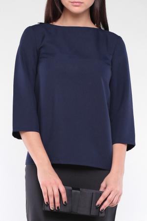 Блуза Laura Bettini. Цвет: темно-синий