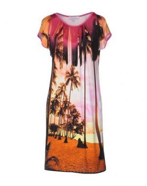 Короткое платье ANNA RACHELE. Цвет: оранжевый