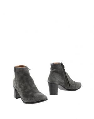 Полусапоги и высокие ботинки ESSEutESSE. Цвет: серый