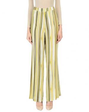 Повседневные брюки PAOLA ROSSINI. Цвет: зеленый