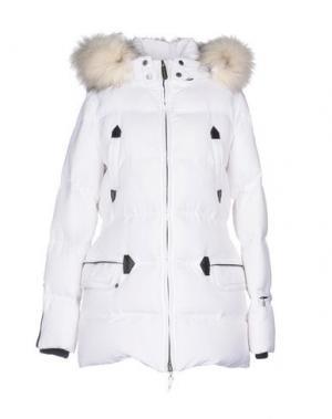 Куртка ELEVEN ELFS. Цвет: белый