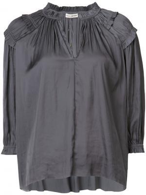 Блуза Amaya Ulla Johnson. Цвет: синий