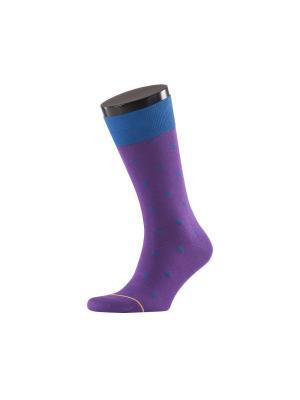 Носки Teller. Цвет: фиолетовый