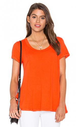 Футболка swing Heather. Цвет: оранжевый
