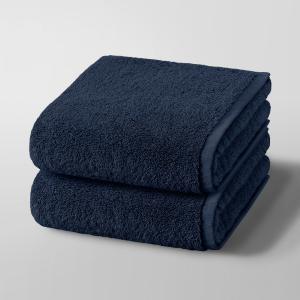 2 полотенца Gilbear, 100% хлопок AM.PM.. Цвет: светло-серый,серо-коричневый,серо-розовый,сине-зеленый,синий морской,темно-серый,черный