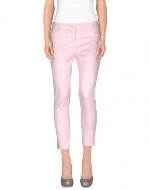 Повседневные брюки GAI MATTIOLO. Цвет: розовый