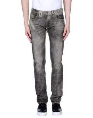 Джинсовые брюки CYCLE. Цвет: свинцово-серый